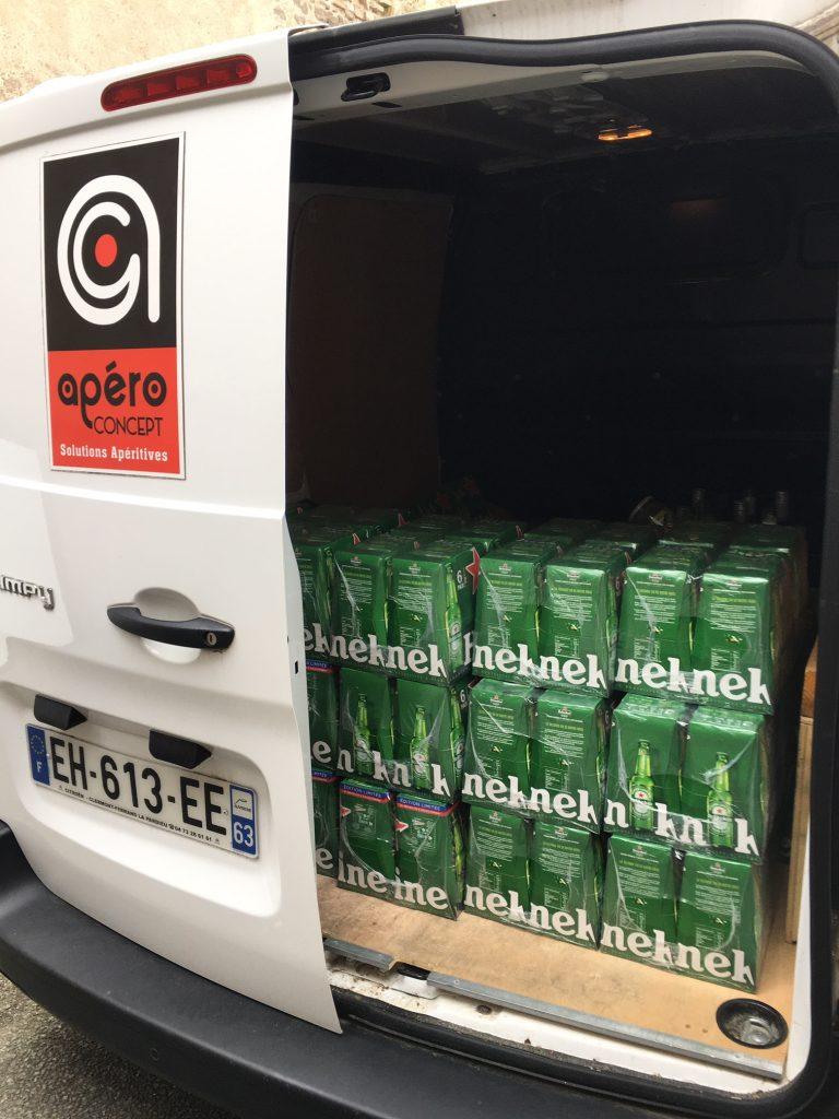 apéro concept, service livraison de boissons
